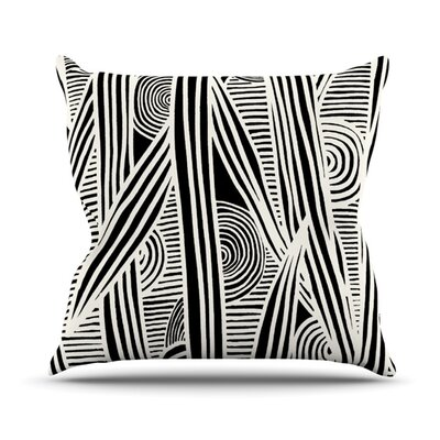 Emine Ortega Graphique Outdoor Throw Pillow Size: 20 H x 20 W x 4 D