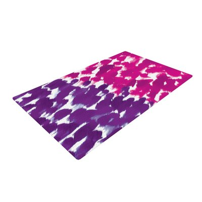Emine Ortega Fleeting Purple/Pink Area Rug Rug Size: 4 x 6
