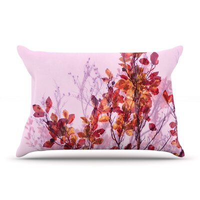 Autumn Symphony by Iris Lehnhardt Featherweight Pillow Sham Size: Queen, Fabric: Woven Polyester
