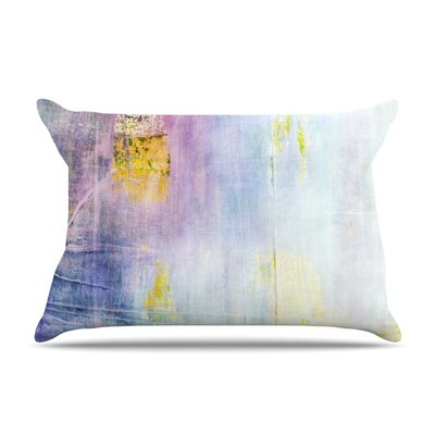 Color Grunge by Iris Lehnhardt Featherweight Pillow Sham Size: King, Fabric: Woven Polyester