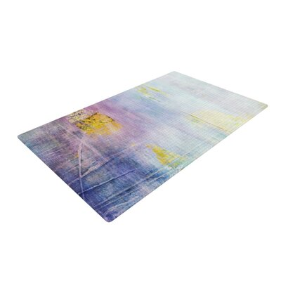 Iris Lehnhardt Grunge Purple Area Rug Rug Size: 4 x 6