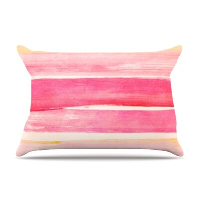 Colour Play by Iris Lehnhardt Featherweight Pillow Sham Size: Queen, Fabric: Woven Polyester