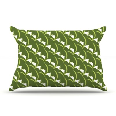 Deco Calla Lily by Holly Helgeson Featherweight Pillow Sham Size: Queen, Fabric: Woven Polyester