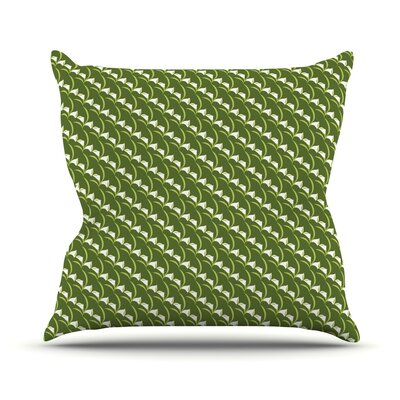 Deco Calla Lily by Holly Helgeson Throw Pillow Size: 16