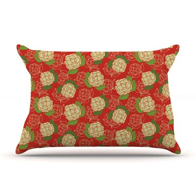 Cammelia by Holly Helgeson Featherweight Pillow Sham Size: King, Fabric: Woven Polyester