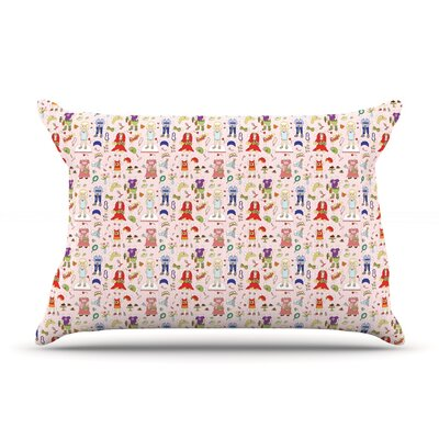 Miss Ruby by Holly Helgeson Featherweight Pillow Sham Size: King, Fabric: Woven Polyester