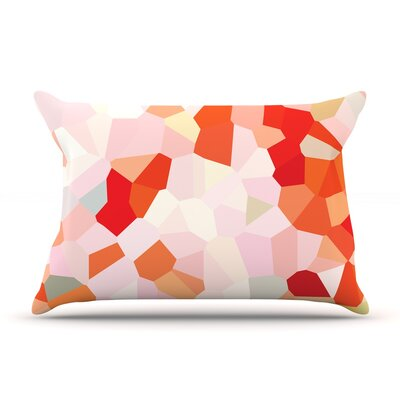 Oooh La La by Iris Lehnhardt Featherweight Pillow Sham Size: King, Fabric: Woven Polyester