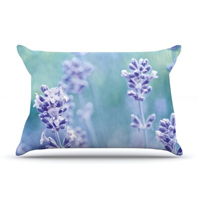 Iris Lehnhardt Lavender Dream Flower Pillow Case