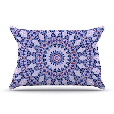 Iris Lehnhardt Kaleidoscope Circle Pillow Case