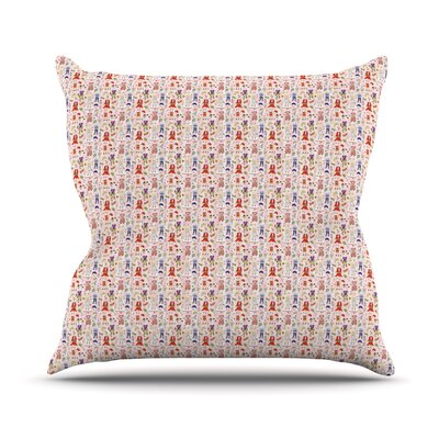 Miss Ruby by Holly Helgeson Throw Pillow Size: 26 H x 26 W x 5 D