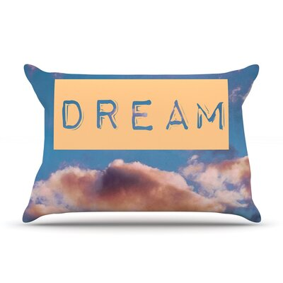 DREAM by Iris Lehnhardt Featherweight Pillow Sham Size: King, Fabric: Woven Polyester