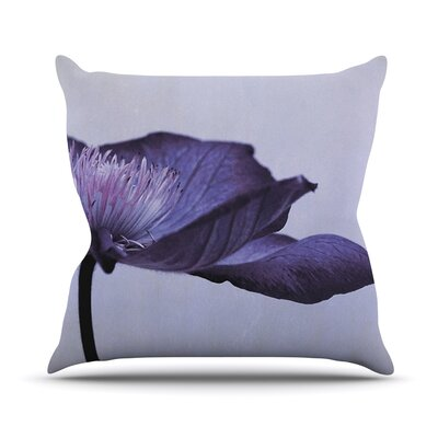 Indigo by Iris Lehnhardt Sky Throw Pillow Size: 18 H x 18 W x 3 D