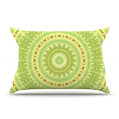 Wheel of Spring by Iris Lehnhardt Featherweight Pillow Sham Size: Queen, Fabric: Woven Polyester