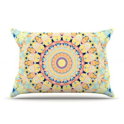 Flourish by Iris Lehnhardt Featherweight Pillow Sham Size: Queen, Fabric: Woven Polyester