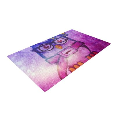 iRuz33 Showly Pink/Purple Area Rug Rug Size: 4 x 6