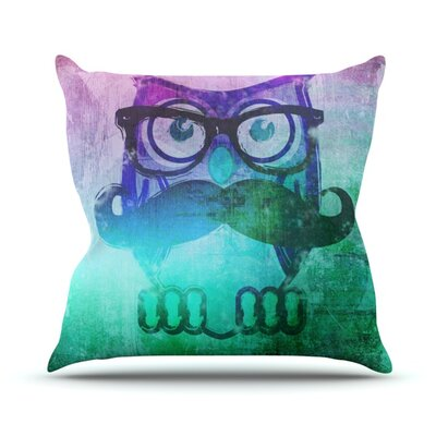 Showly Throw Pillow Size: 18 H x 18 W