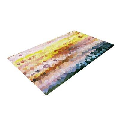 Iris Lehnhardt Turaluraluraluuu Pixel Yellow/Brown Area Rug Rug Size: 4 x 6