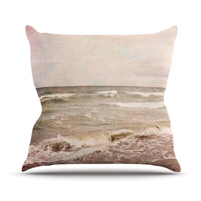 Romantic Sea by Iris Lehnhardt Beach Throw Pillow Size: 26 H x 26 W x 5 D