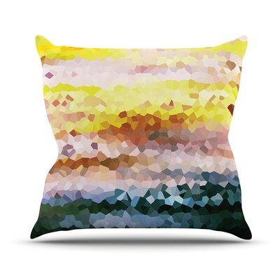 Turaluraluraluuu by Iris Lehnhardt Pixel Throw Pillow Size: 18 H x 18 W x 3 D