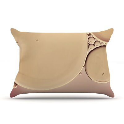 A Touch of Pink by Ingrid Beddoes Featherweight Pillow Sham Size: Queen, Fabric: Woven Polyester