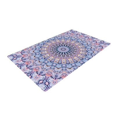 Iris Lehnhardt Summer Lace II Circle Purple Area Rug Rug Size: 2 x 3