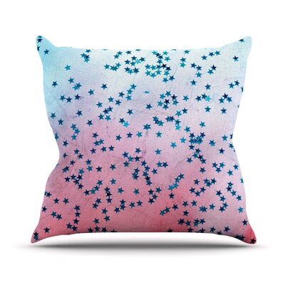 Stargazer by Iris Lehnhardt Throw Pillow Size: 18 H x 18 W x 3 D