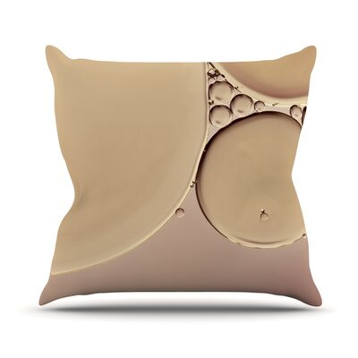 A Touch by Ingrid Beddoes Throw Pillow Size: 18 H x 18 W x 3 D