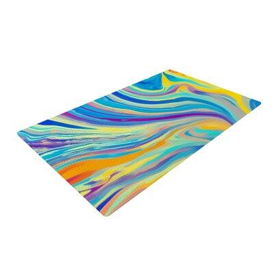 Ingrid Beddoes Swirl Rainbow Area Rug Rug Size: 2 x 3