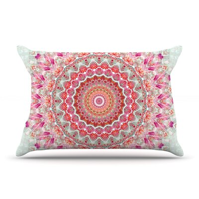 Summer Lace III by Iris Lehnhardt Featherweight Pillow Sham Size: King, Fabric: Woven Polyester