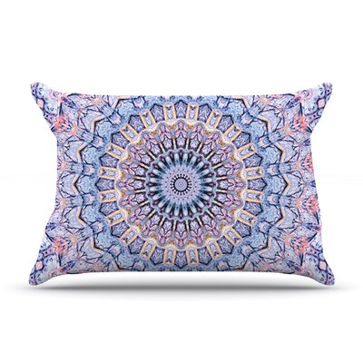 Summer Lace II by Iris Lehnhardt Featherweight Pillow Sham Size: Queen, Fabric: Woven Polyester