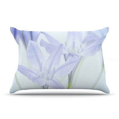 Iris Lehnhardt Triplet Lily Flower Pillow Case
