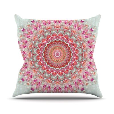 Summer Lace III by Iris Lehnhardt Throw Pillow Size: 18 H x 18 W x 3 D