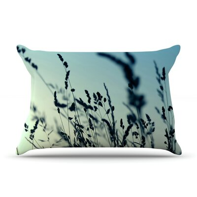 Cool Breeze by Ingrid Beddoes Featherweight Pillow Sham Size: King, Fabric: Woven Polyester