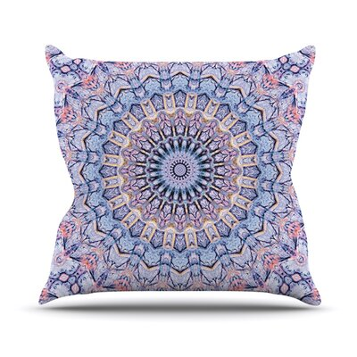Summer Lace II by Iris Lehnhardt Throw Pillow Size: 16 H x 16 W x 3 D
