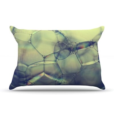 Bubblicious by Ingrid Beddoes Featherweight Pillow Sham Size: King, Fabric: Woven Polyester