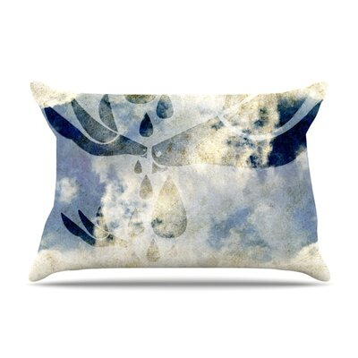 Doves Cry by iRuz33 Featherweight Pillow Sham Size: King, Fabric: Woven Polyester