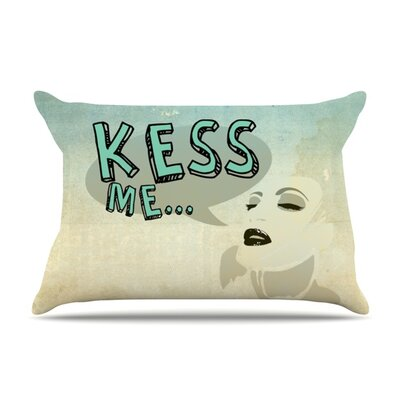 KESS Me by iRuz33 Featherweight Pillow Sham Size: King, Fabric: Woven Polyester
