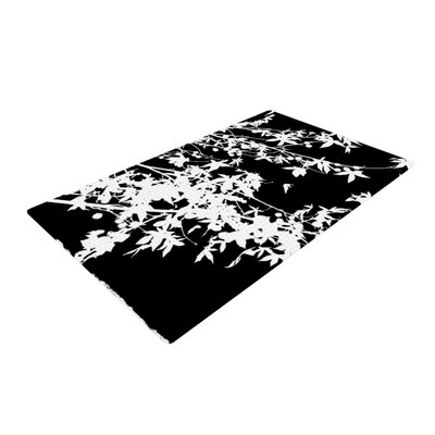 Ingrid Beddoes Black/White Area Rug Rug Size: 4 x 6