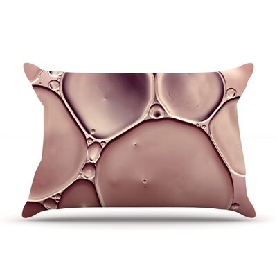 Dusty Pink by Ingrid Beddoes Featherweight Pillow Sham Size: King, Fabric: Woven Polyester