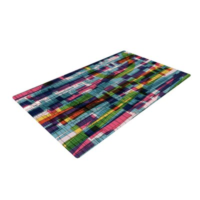 Frederic Levy Hadida Squares Traffic Pastel Area Rug