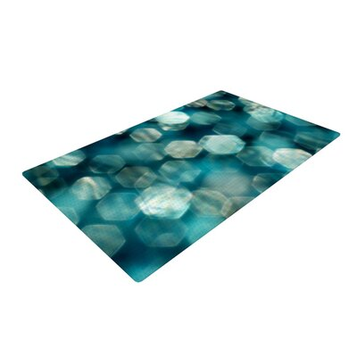 Ingrid Beddoes Shades Blue Area Rug Rug Size: 2 x 3