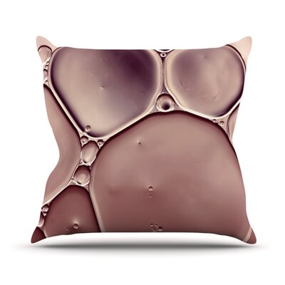 Dusty by Ingrid Beddoes Throw Pillow Size: 26 H x 26 W x 5 D