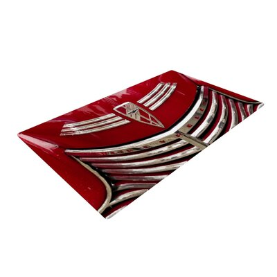 Ingrid Beddoes Chevy Red Area Rug Rug Size: 4 x 6
