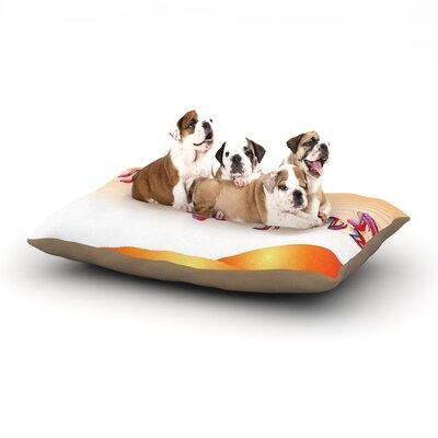 Fotios Pavlopoulos Nature Music Dog Pillow with Fleece Cozy Top Size: Large (50 W x 40 D x 8 H)