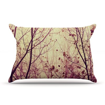 My Secret Garden by Ingrid Beddoes Featherweight Pillow Sham Size: King, Fabric: Woven Polyester