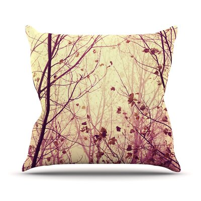 My Secret Garden by Ingrid Beddoes Throw Pillow Size: 18 H x 18 W x 3 D