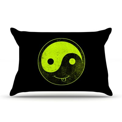 Frederic Levy-Hadida Ying Yang Pillow Case