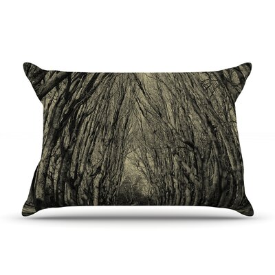 Where Trees Still Whisper by Ingrid Beddoes Featherweight Pillow Sham Size: Queen, Fabric: Woven Polyester