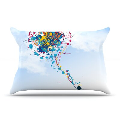Child Creation Chronicle by Frederic Levy-Hadida Featherweight Pillow Sham Size: Queen, Fabric: Woven Polyester