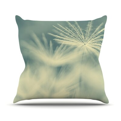 Snowflake by Ingrid Beddoes Throw Pillow Size: 16 H x 16 W x 3 D